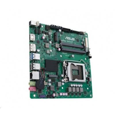 ASUS MB Sc LGA1200 PRO H410T/CSM, Intel H410, 2xSO-DIMM DDR4, HDMI, mini ITX