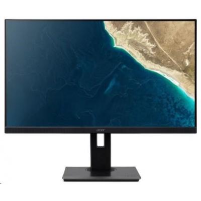 "ACER LCD B277Ubmiipprzx, 69cm (27"") IPS LED, 2560x1440@75Hz, 100M:1, 350cd/m2, 178°/178°, 4ms, VGA, 2xHDMI, DP, Audio In"