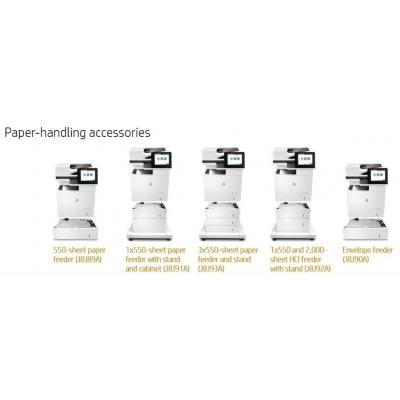 HP LaserJet 1x550 Stand - Skříňka tiskárny + zásobník na 1x550 listů pro LJ M632, M631, E62655, E62665
