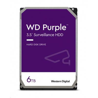 WD PURPLE WD62PURZ 6TB SATA/600 128MB cache, Low Noise, CMR