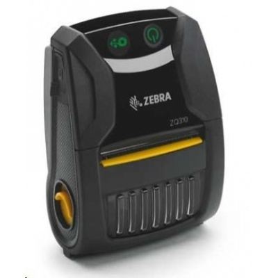 Zebra ZQ310 Outdoor, USB, BT, 8 dots/mm (203 dpi), linerless, ZPL, CPCL