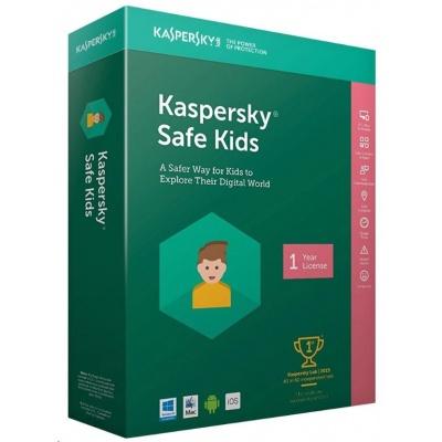 Kaspersky Safe Kids CZ 1 zařízení / 1 rok