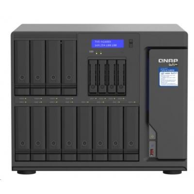 QNAP TVS-h1688X-W1250-32G (6C/Xeon W-1250/3,3-4,7GHz/32GBRAM/12x3,5SATA/4x2,5SATA/2xM.2/4x2,5GbE/6xUSB3.2/3xPCIe)