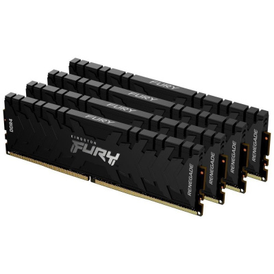 KINGSTON FURYRenegade 64GB3600MHz DDR4 CL16DIMM (Kit of4)1Gx8 Black