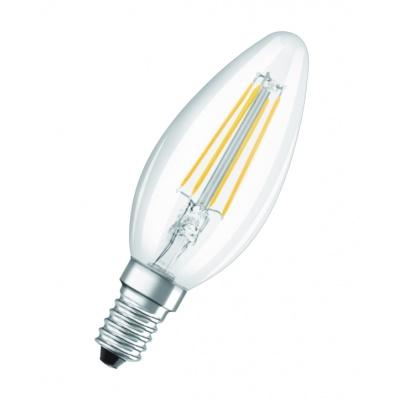 OSRAM LED STAR CL B Filament 4W 827 E14 470lm 2700K (CRI 80) 15000h A++ (Krabička 1ks)