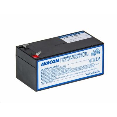 AVACOM Náhradní baterie (olověný akumulátor) 12V 3Ah do vozítka Peg Pérego F1