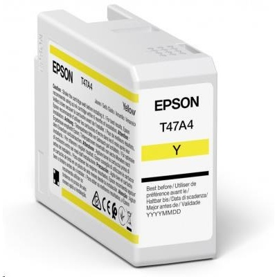 EPSON ink Singlepack Yellow T47A4 UltraChrome Pro 10 ink 50ml
