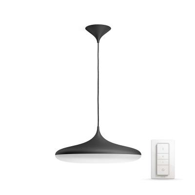 PHILIPS Cher Závěsné svítidlo, Hue White ambiance, 230V, 1x39W integ.LED, Černá