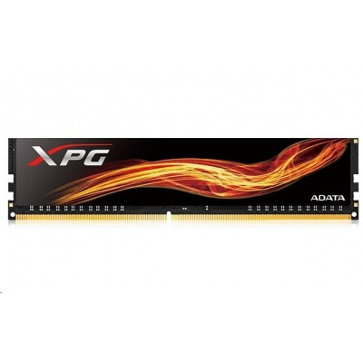 DIMM DDR4 16GB 3000MHz CL16 ADATA XPG Flame memory, Single Tray, Black
