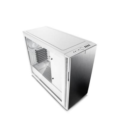 FRACTAL DESIGN skříň DEFINE R6 USB-C Arctic White, průhledný TG bok, bez zdroje