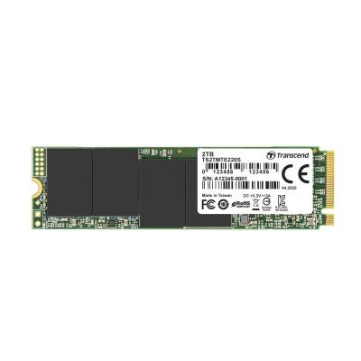 TRANSCEND SSD 220S 2TB, M.2 2280, PCIe Gen3x4, NVMe, M-Key, 3D TLC, with Dram