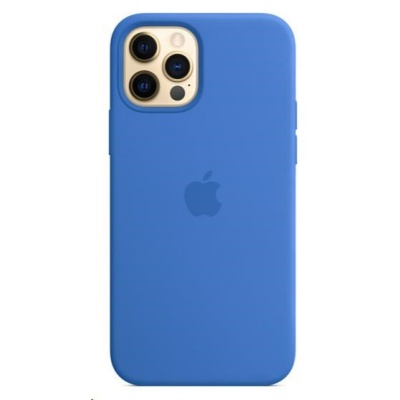 APPLE iPhone 12 | 12 Pro Silicone Case with MagSafe - Capri Blue