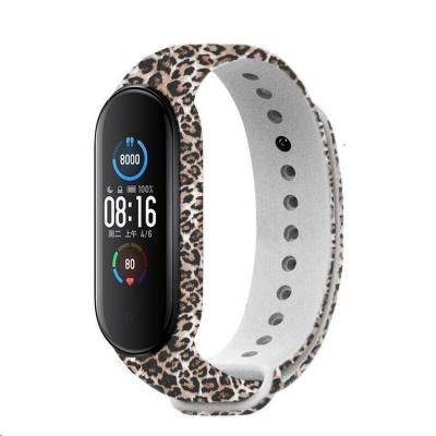 RhinoTech řemínek pro Xiaomi Mi Band 5 motiv gepard