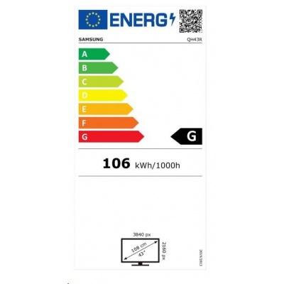 "SMART Signage LED QH43R 43"" LH43QHREBGCXEN"