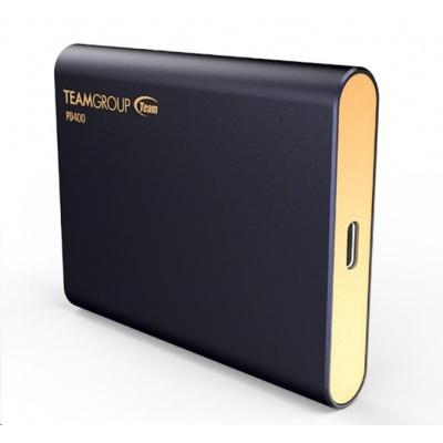 Team external SSD 480GB PD400 (430/420 MB/s) USB 3.1, Navy blue