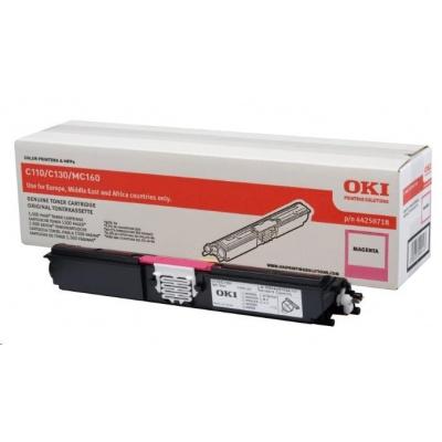 Oki Toner Magenta do C110/C130n/MC160 (1.5K)