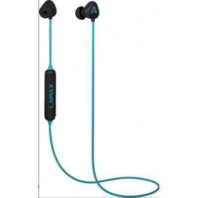 LAMAX Tips1 špuntová sluchátka - tyrkysové
