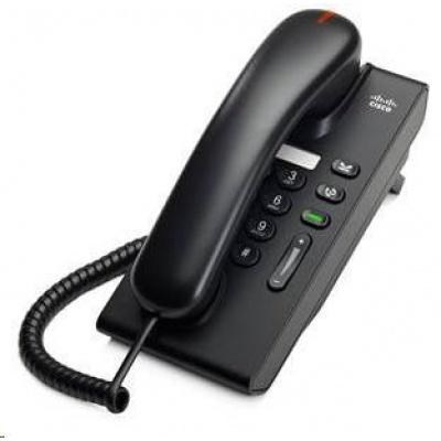 Cisco Unified CP-6901-C-K9=, VoIP telefon, single-line, 10/100, displej, PoE