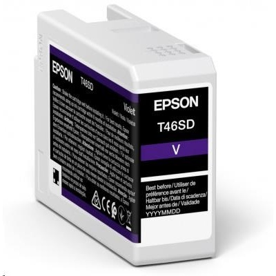 EPSON ink Singlepack Violet T46SD UltraChrome Pro 10 ink 25ml