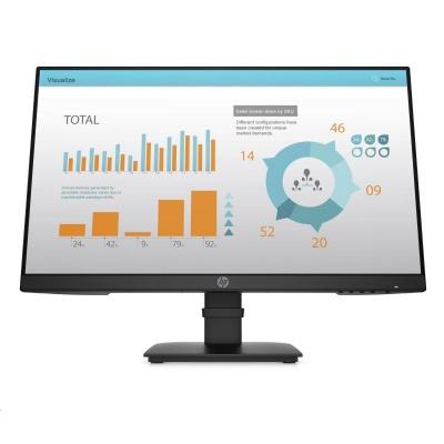 "HP LCD ProDisplay P24 G4 LED 23.8""wide, (IPS,1920x1080, 5ms, 1000:1, 250 nits, VGA, DP 1.2, HDMI 1.4)"
