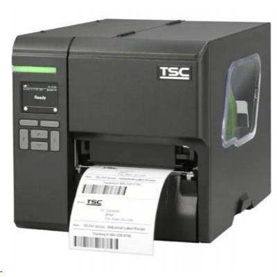 TSC ML340P Wi-Fi ready, 12 dots/mm (300 dpi), disp. (colour), RTC, USB, RS-232, Ethernet