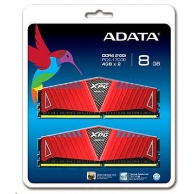 DIMM DDR4 16GB 2400MHz CL16 (KIT 2x8GB) ADATA XPG Z1, 1024x8, Red