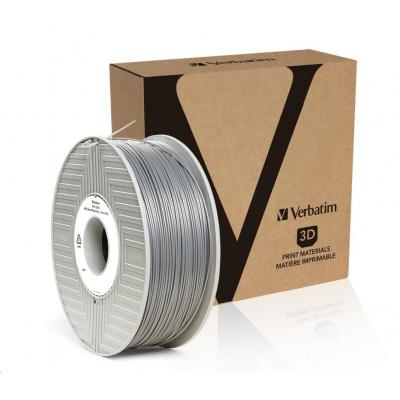 VERBATIM 3D Printer Filament ABS 1,75mm ,404m,1kg silver/metal grey (OLD PN 55016)