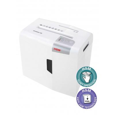 HSM skartovač Shredstar X8 (řez: Kombinovaný 4.5x30mm | vstup: 220mm | DIN: P-4 (3) | papír, sponky, plast. karty, CD)