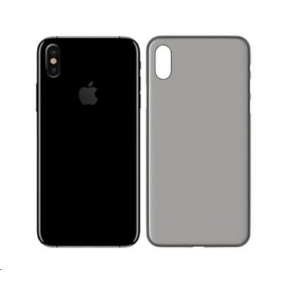 3mk ochranný kryt NaturalCase pro Apple iPhone XS, transparentní černá