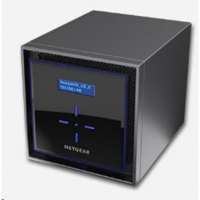 Netgear RN42400 READYNAS 424 4-BAY DISKLESS, 2x gigabit RJ45, 1x eSATA port, 2x USB3.0