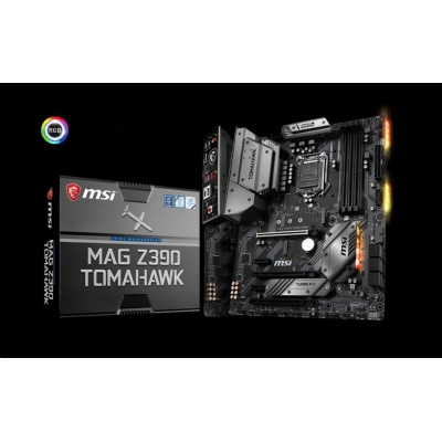 MSI MB Sc LGA1151 MAG Z390 TOMAHAWK, Intel Z390, VGA, 4xDDR4