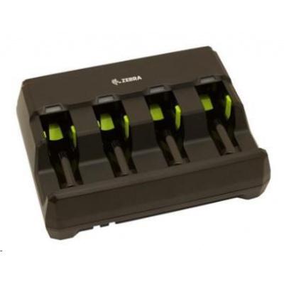 Zebra baterie charging station, 4 slot