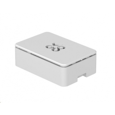 Okdo krabička pro Raspberry Pi 4B, bílá