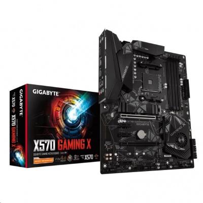 GIGABYTE MB Sc AM4 X570 GAMING X, AMD X570, 4xDDR4, VGA
