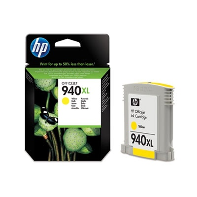 HP 940XL Yellow Ink Cart, 16 ml, C4909AE
