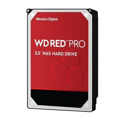 WD RED Pro NAS WD141KFGX 14TB SATAIII/600 512MB cache, 255 MB/s