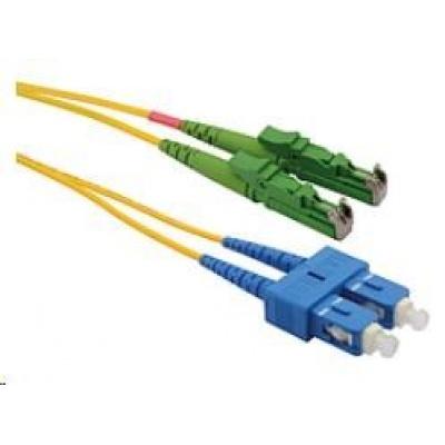 Solarix Patch kabel 9/125 E2000apc/SCupc SM OS 2m duplex SXPC-E2000/SC-APC/UPC-OS-2M-D