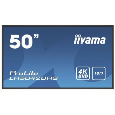 iiyama ProLite LH5042UHS-B1, Android, 4K, black