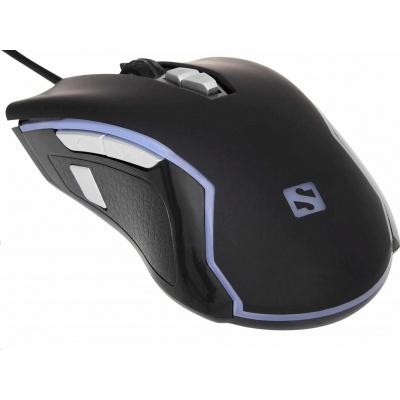 Sandberg optická herní myš Xterminator, 8000dpi, černá