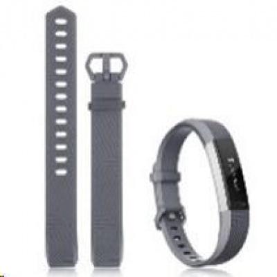 eses silikonový řemínek šedý ve velikosti S pro Fitbit Alta HR