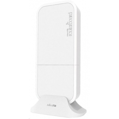MikroTik wAP LTE kit, white, 650MHz CPU, 64MB RAM, 1x LAN, 2.4GHz Wi-Fi, 2x2MIMO, 2dBi, LTE, vč. L4