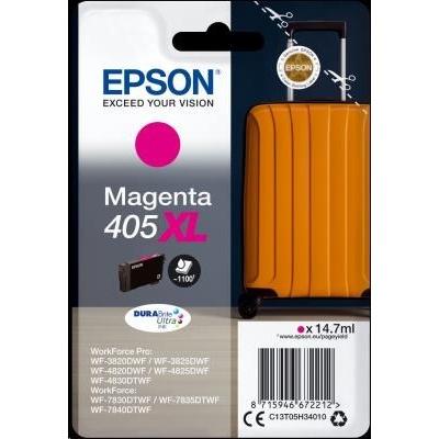 EPSON ink Singlepack Magenta 405XL Durabrite Ultra