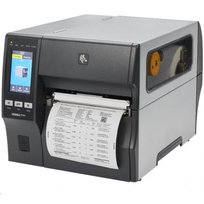 """Zebra ZT421,průmyslová 6"""" tiskárna,(203 dpi),cutter,disp. (colour),RTC,EPL,ZPL,ZPLII,USB,RS232,BT,Ethernet"""