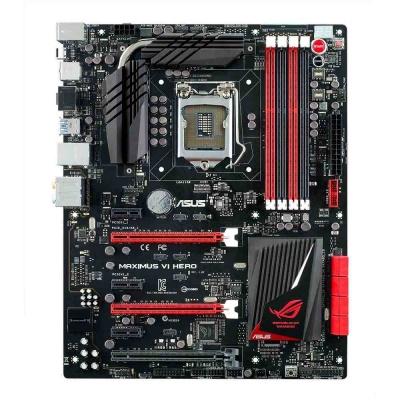 ASUS MB Sc LGA1151 MAXIMUS X HERO, Intel Z370, 4xDDR4, VGA