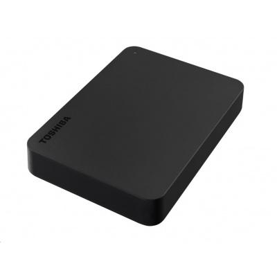 "TOSHIBA HDD CANVIO BASICS 4TB, 2,5"", USB 3.2 Gen 1, černá / black"
