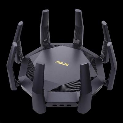 ASUS RT-AX89X Wireless AX6000 Wifi 6 Router, 1x 10Gb, 8x gigabit, 1x SFP+, 2x USB3.1
