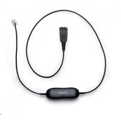 Jabra kabel QD -> RJ9 pro Avaya 16xx a 96xx, rovný