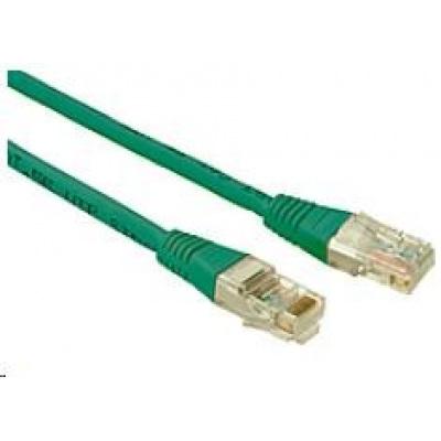 Solarix Patch kabel CAT5E UTP PVC 5m zelený non-snag-proof C5E-155GR-5MB