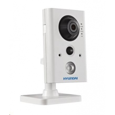HYUNDAI IP kamera 2Mpix, H.264, 25 sn/s, obj. 2,8mm (110°), PoE,audio,DI/DO, IR 10m, IR-cut,Wi-Fi,WDR 120dB, mSD, analyt