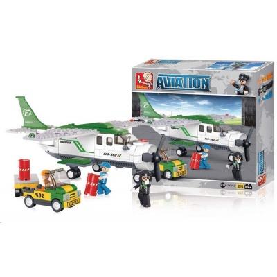 Sluban B-0362 Přepravní letadlo 251 dílků
